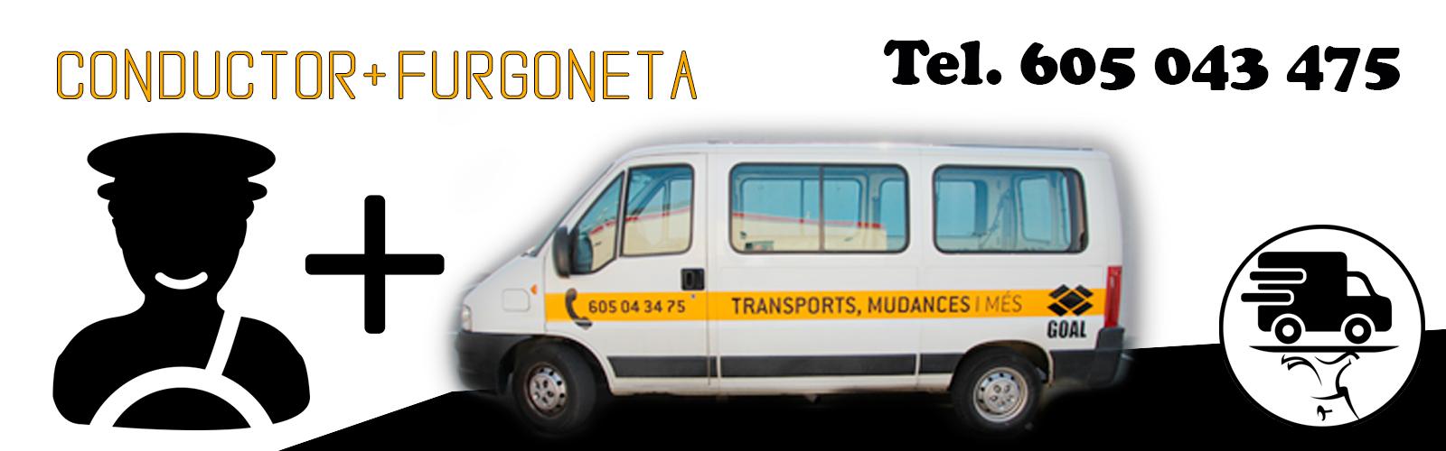 furgoneta + conductor